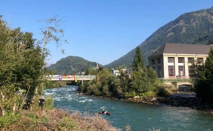Deutsche Meisterschaft im Kanu Wildwasser- Rennsport auf der Möll 🛶 🏁
