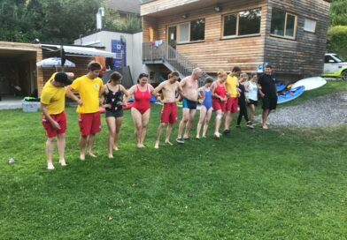 Rettungsschwimmertraining