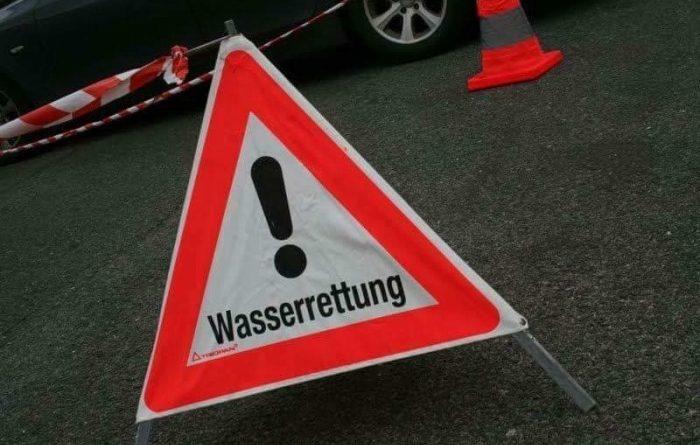 Person in Sattnitz gestürzt