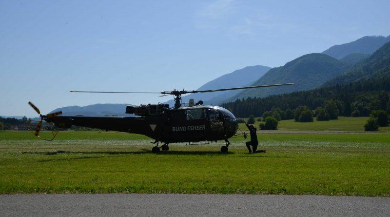 Hubschrauberübung 2019