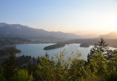 Faaker See tritt über die Ufer