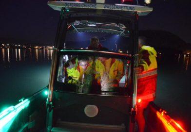 Nachteinsatz am Faaker See