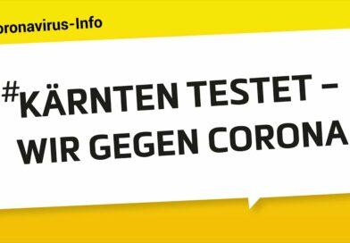 #KÄRNTEN TESTET – WIR GEGEN CORONA