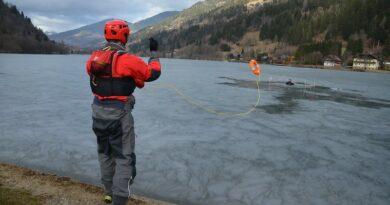 Richtiges Verhalten bei Eisunfällen