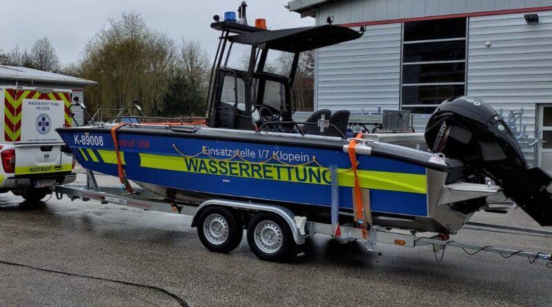 Neues Einsatzboot