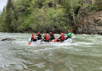 Raft- und Schlauchkanadier-Fortbildung
