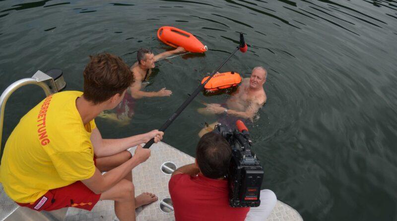 Bojen für ein sicheres Schwimmen