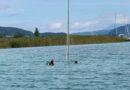 Segelboot gesunken